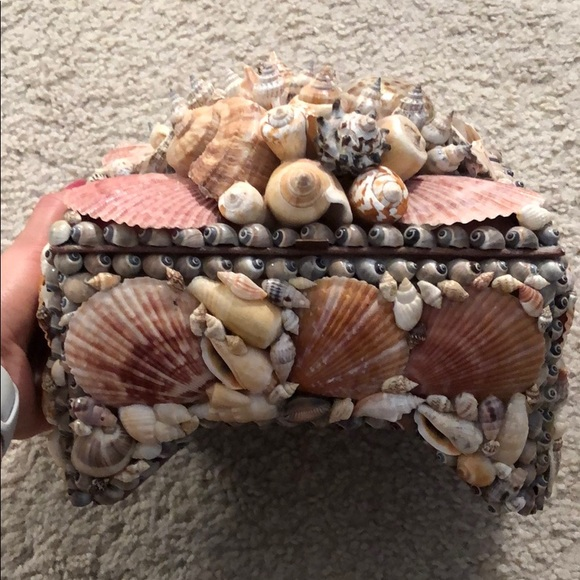 Other - Sea shell jewelry box